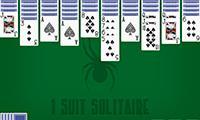 Solitario Spider 1 palo